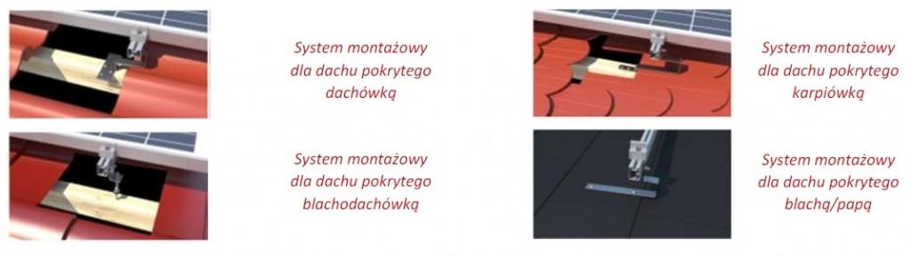 systemy montażowe dach 1